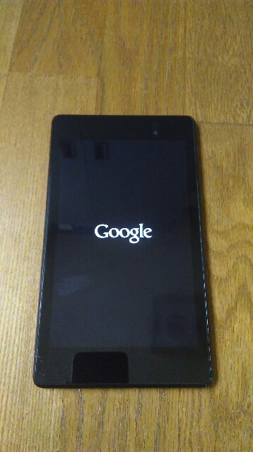 Nexus7が起動しない文鎮化を確実に直す方法があった Future Nova