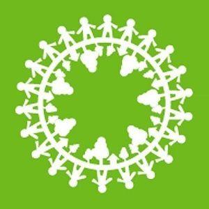 人権連の荊冠旗