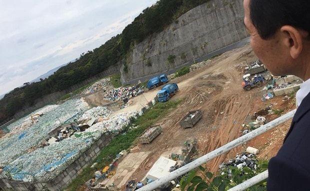 名護市のゴミ、廃棄物処理場