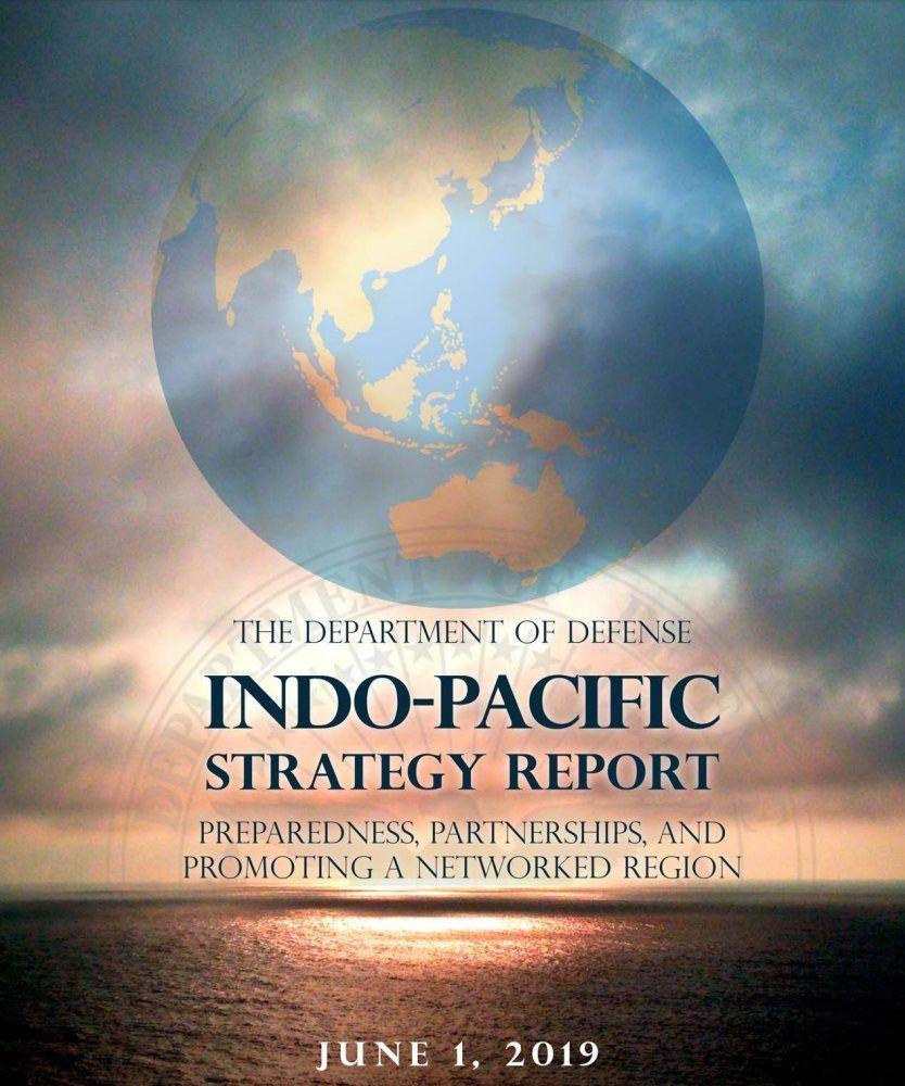 インド太平洋戦略報告書、台湾、国