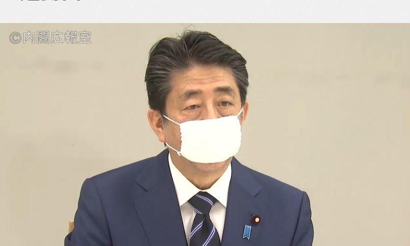 布マスク2枚