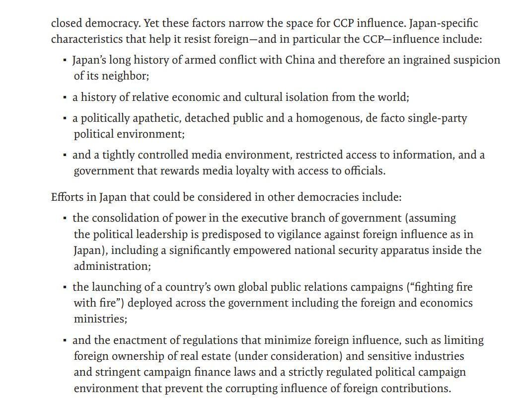 CSISのレポート、中国の日本における影響力