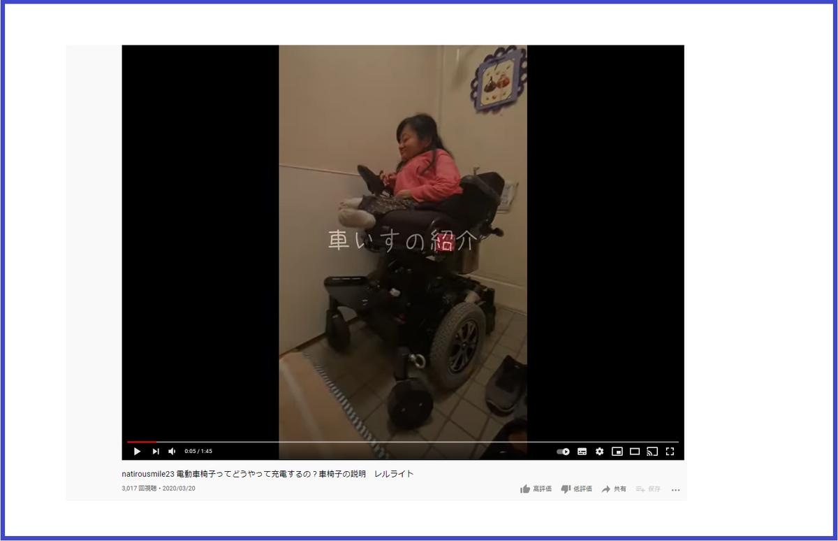 伊是名夏子の電動車椅子レルライト