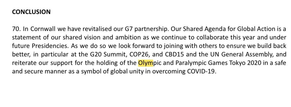 g7共同声明