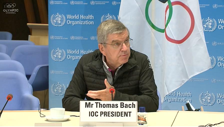 バッハ会長「スポーツはウイルスと戦える」