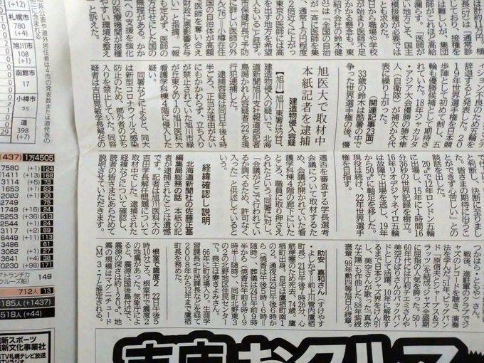 北海道新聞鳥潟かれん記者