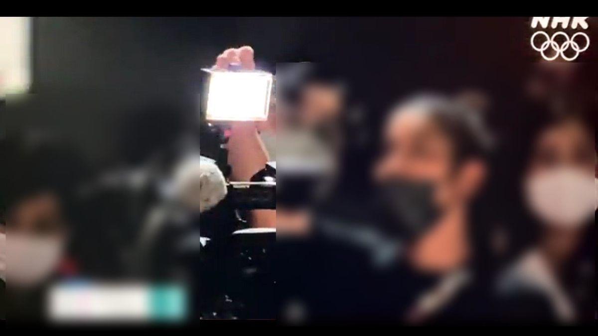 韓国メディア卓球ライトが伊藤美誠に注意される