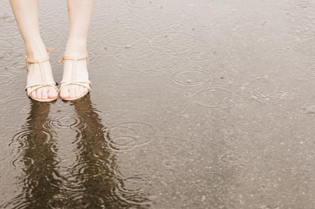 ただ雨は降っている