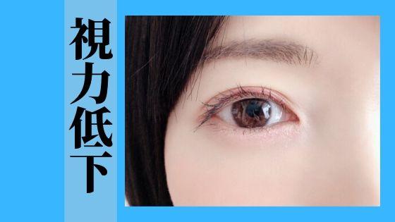 視力低下問題