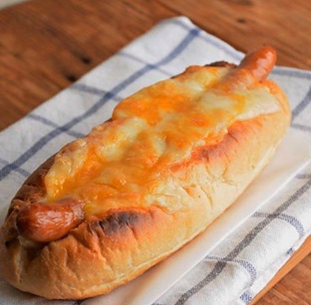 チーズ・ソーセージ・サンド