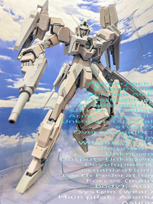 MG ガンダムAGE-2 ダブルバレット 特殊任務カラーver. 全塗装