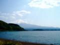 [風景]河口湖から富士を望む
