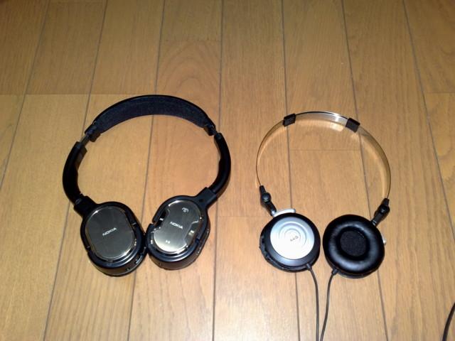 NOKIA BH-905 & AKG K26P