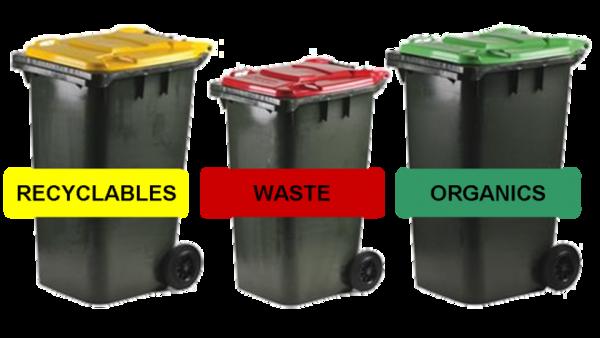 New 3 bins