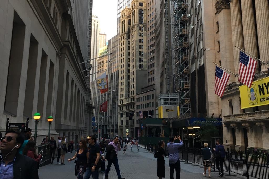 人気の海外旅行先、ニューヨーク