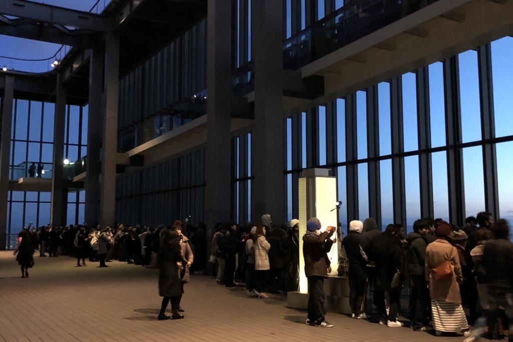 名古屋ミッドランドスクエアの初日の出