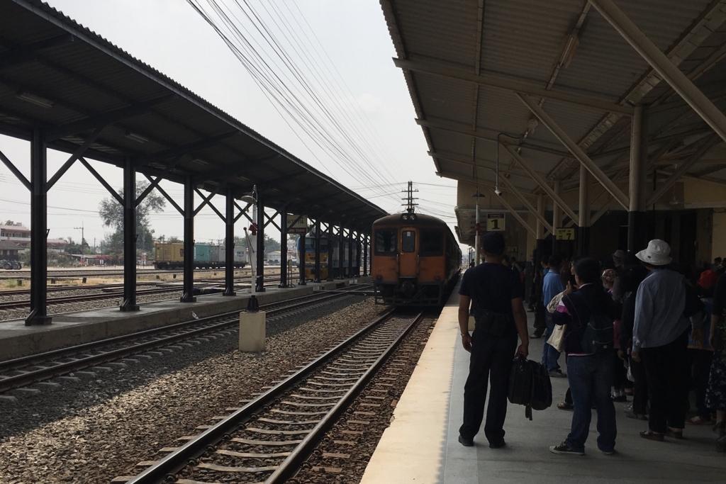 タイのウドンターニー駅