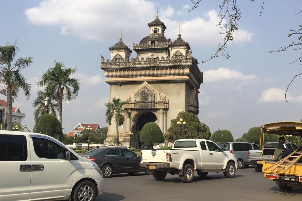 ビエンチャンの凱旋門