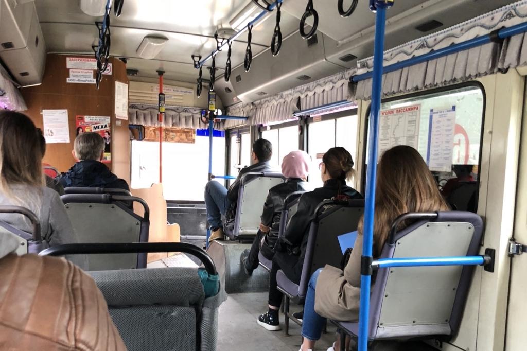 ウラジオストクの路線バス