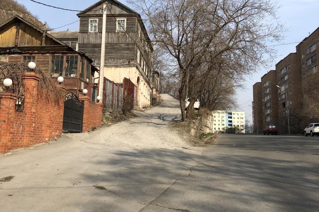 ウラジオストクのホテルに至るまでの道のり