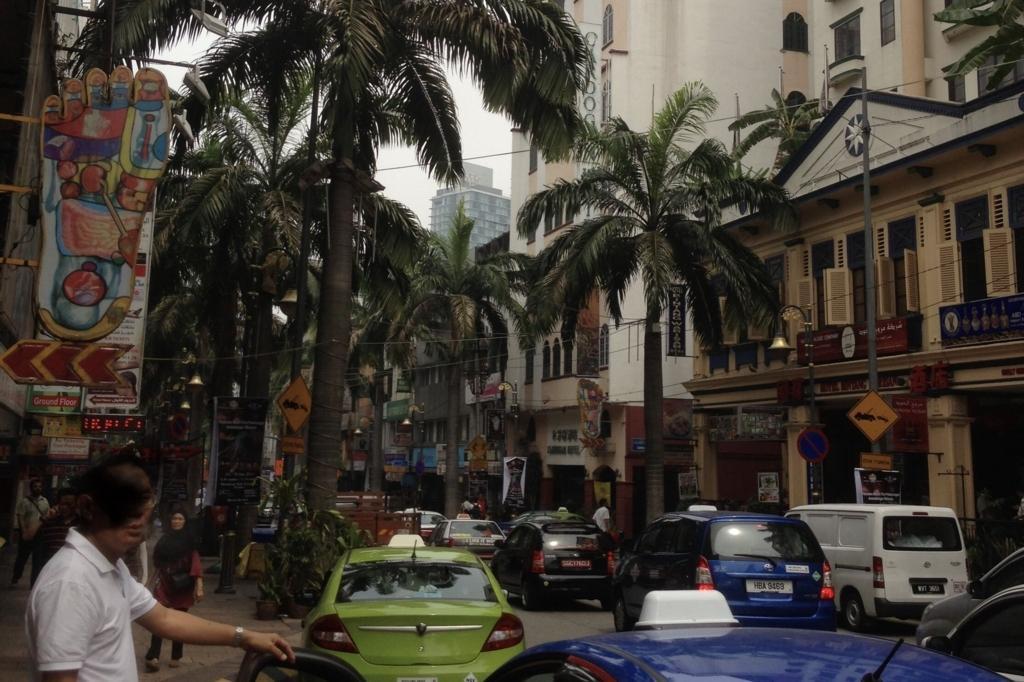 南国感あふれるマレーシアの様子