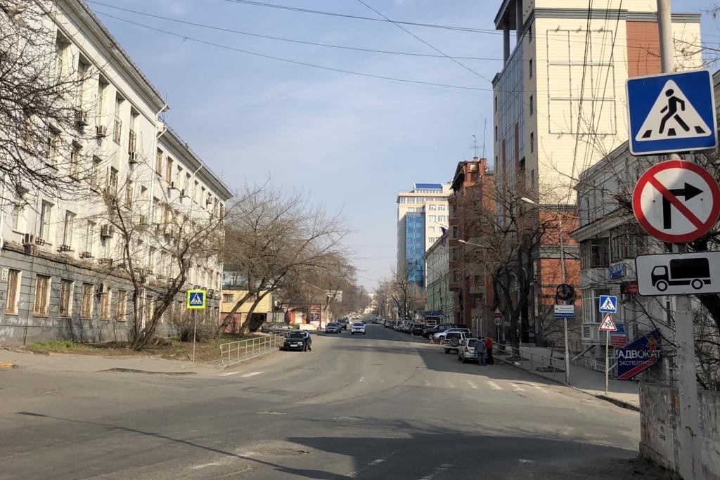ウラジオストクの郊外