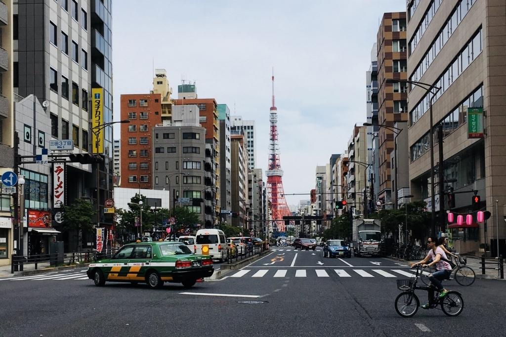 東京の様子