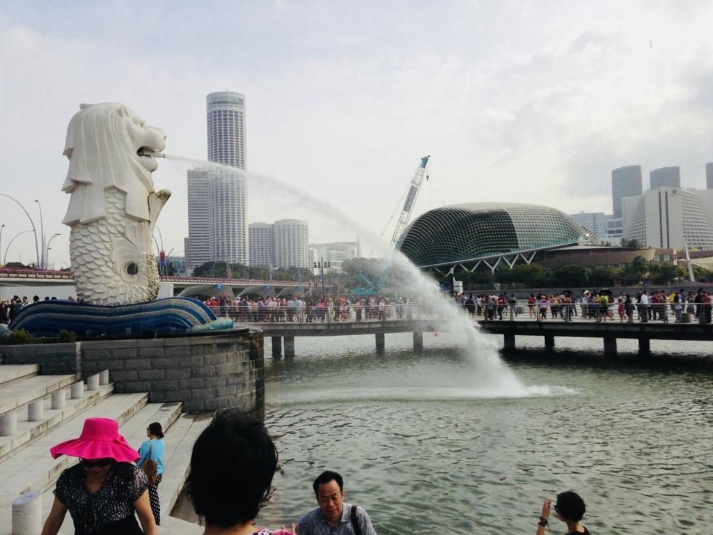 シンガポールを象徴する景色