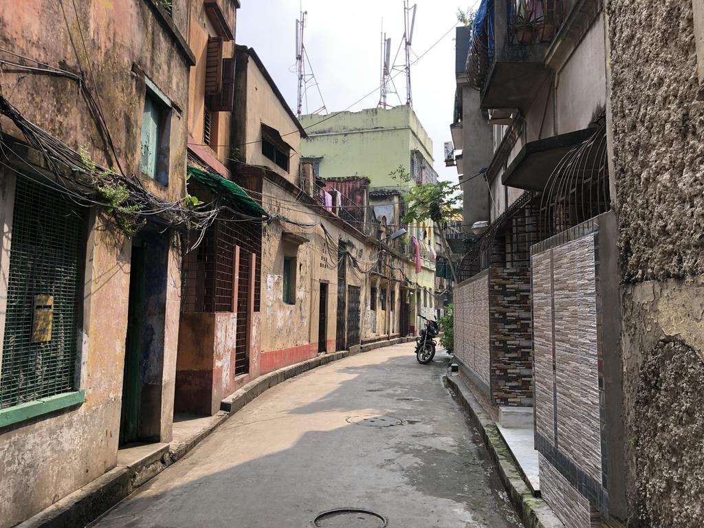 インドの綺麗な街角