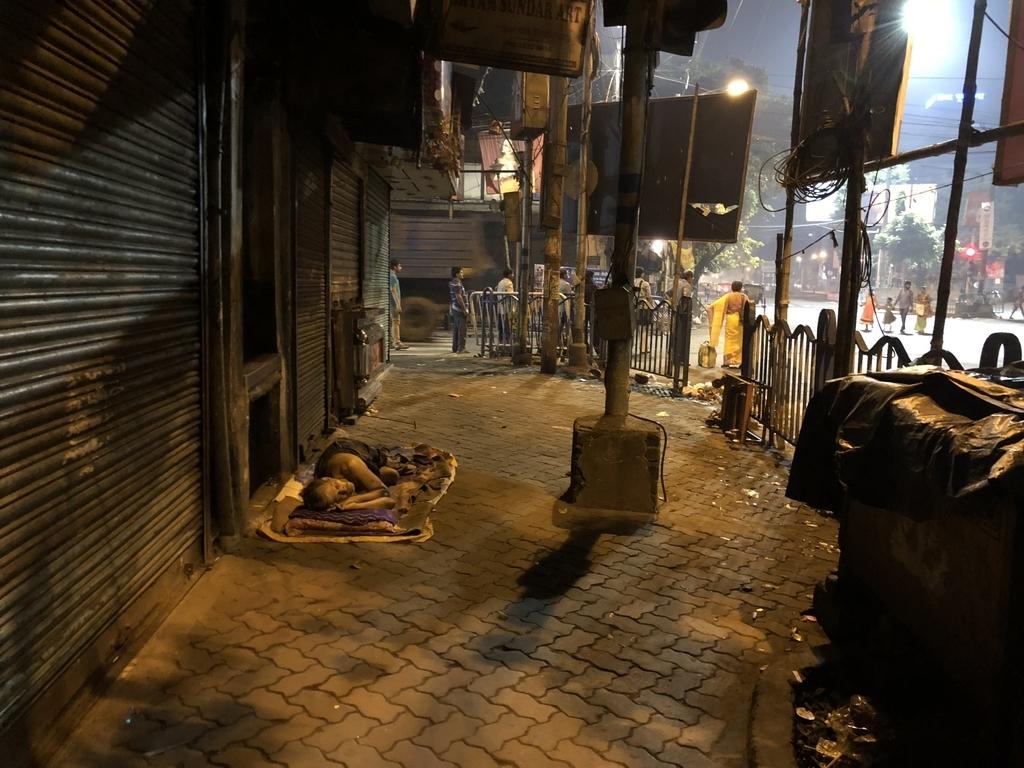 朝4時半のインド・コルカタ