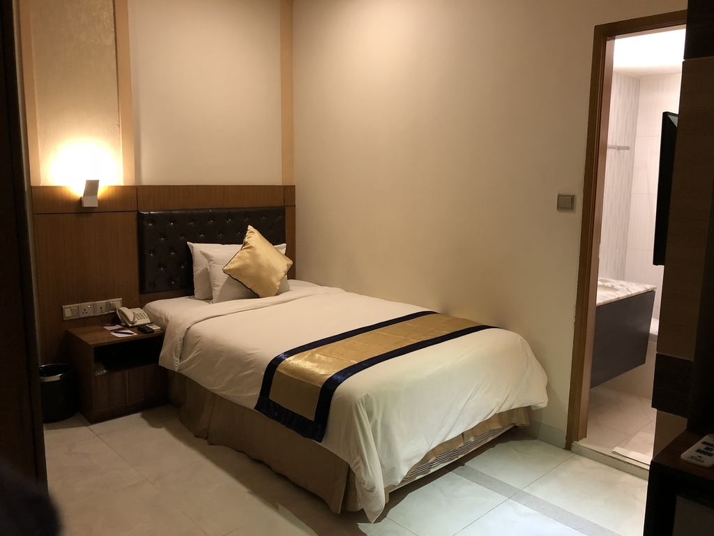 Asia Hotel&Resortsのベッド