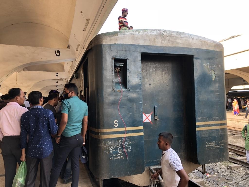 バングラデシュの鉄道車両