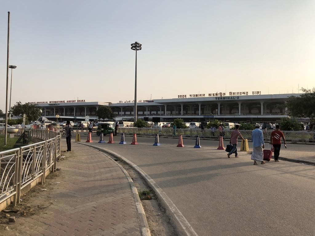 ダッカのシャージャラル空港