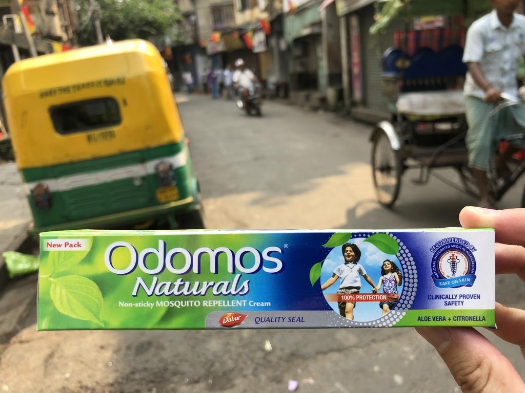 インドの蚊よけ薬、Odomos