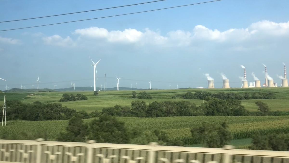 中国の風力発電