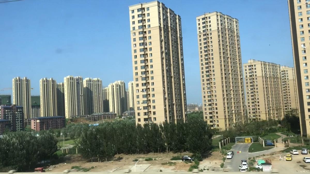 中国の都会