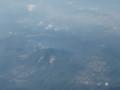 芦ノ湖上空