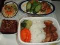 機内食 in JAL32