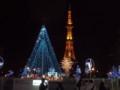 札幌大通公園とテレビ塔