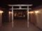 鉄道神社 in 博多駅の上