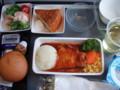 シンガポール航空 昼食