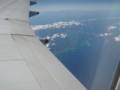 フィリピン上空