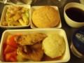 シンガポール航空 夜食