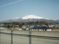 北陸新幹線から浅間山