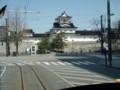 富山地鉄市内環状線から富山城