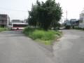 名鉄バス福岡町バス停ロータリー