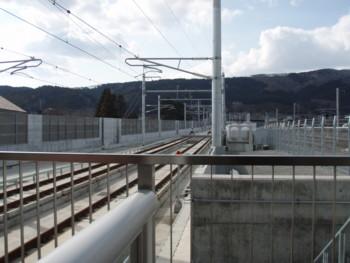 新函館北斗駅いきどまり