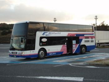 大阪から東京まで高速バスで
