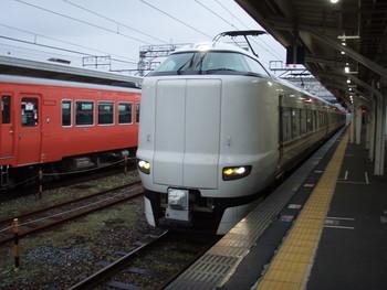 特急きのさき8号 豊岡駅