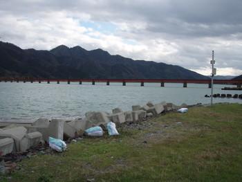 由良川鉄橋まで歩く